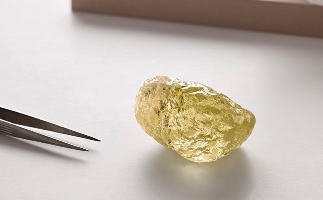 Canadian firm finds largest diamond ever unearthed in North America